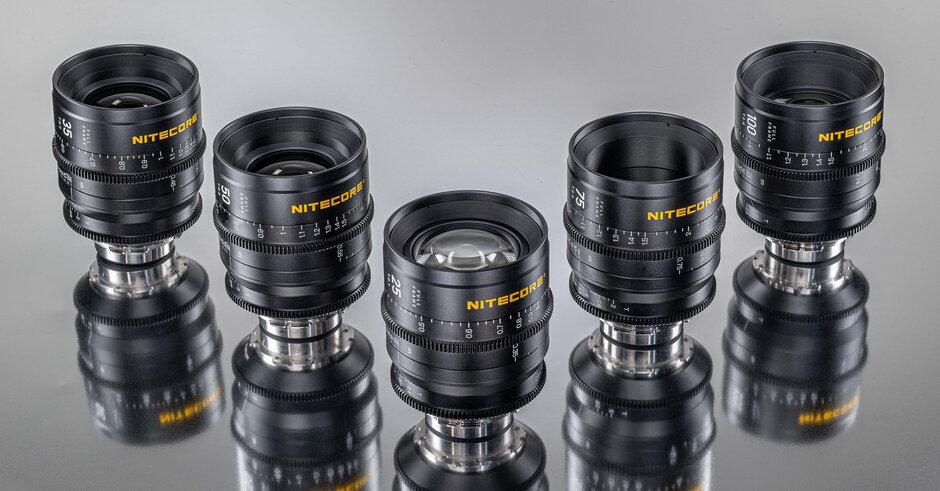 Obiettivi cinematografici full frame NITECORE Superior Prime