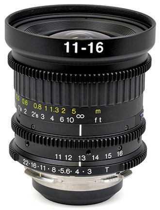 11-16mm T3 Wideangle Zoom Lens