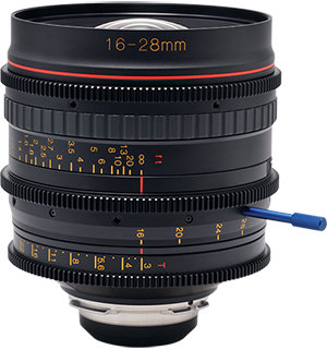16-28mm T3 Wideangle Zoom Lens