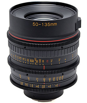 50-135mm T3 Telephoto Zoom Lens