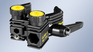 "CLAMP-D – Clamp with 1/4"" internal thread and hex. receptacle"