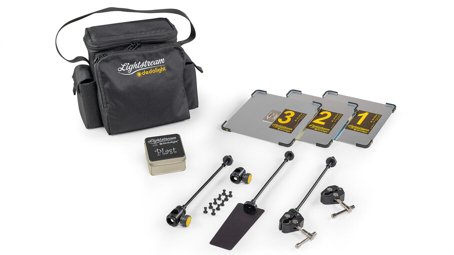 SLL3-20 – dedolight Lightstream Lite Standard Kit