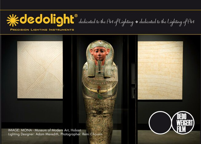 dedolight architectural fitting and Luxam